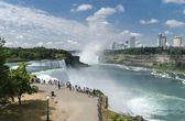 The Niagara Falls — Stock Photo