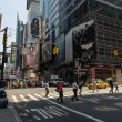 Manhattan streets - Stock Photo