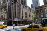 Manhattan streets — Stock Photo