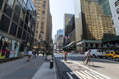 Manhattan streets — Stock Photo