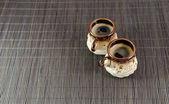 Cup of espresso coffee — Stock Photo