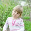 Stock Photo: Little girl outdoor