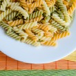 fusilli pasta — Stock Photo
