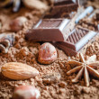 Chocolate still life — Stock Photo #30560065