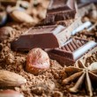 Chocolate still life — Stock Photo #30560091