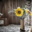 Rustic interior still life — Stock Photo