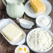 Stock Photo: Dairy Products