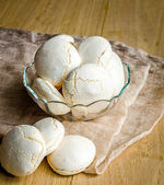 Small Meringues — Stock Photo