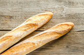 Two baguettes — Foto Stock
