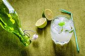 Refreshing mojito cocktail — Stock Photo