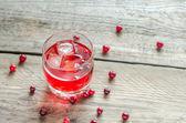 Kızılcık suyu — Stok fotoğraf
