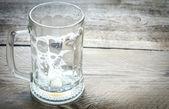 Empty beer mug — Stock Photo