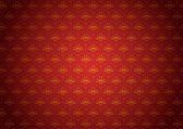 Vector pattern on a red background — Stock Photo