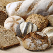 Foto Stock: Variation of wholemeal Bread