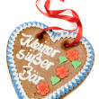 Gingerbread heart — Stockfoto