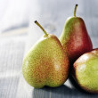 Three ripe pears — Stock Photo