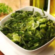 Stock Photo: Fresh Green Salad with Arugula, Rocket
