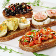 Foto Stock: Bruschetta