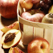 Fruits In A Basket — Stockfoto