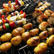 Foto Stock: Barbeque