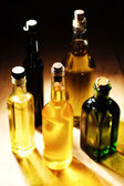 Variety of Cooking Oils — Stock Photo