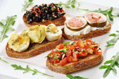 Bruschetta — Stockfoto