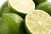 Fresh and juicy Lime close-up — Stock Photo