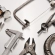 Different Goldsmith's Tools — Foto Stock