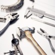 Different Goldsmith's Tools — Lizenzfreies Foto