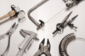 Different Goldsmith's Tools — Stock Photo