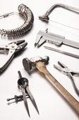 Different Goldsmith's Tools — Stock Photo