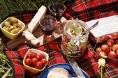 野餐意甲 — 图库照片