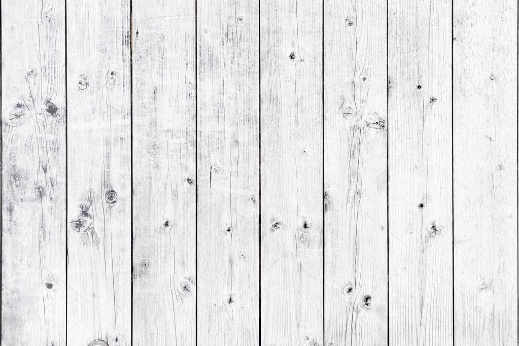 White Wooden Grunge Pa...