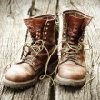 Worn Boots — Stock Photo