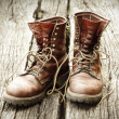 Stock Photo: Worn Boots