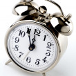 Vintage Alarm Clock, it's 5 to 12 — Stock Photo #27281681