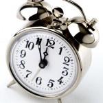 Vintage Alarm Clock, it's 5 to 12 — Stock Photo