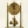 Antique clock 5 to 12 — Lizenzfreies Foto