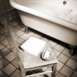 Bathroom scene — Stock fotografie