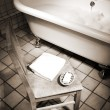 Bathroom scene — Stockfoto