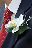 Bride Grooms' Flowers — Stock Photo