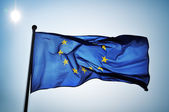 European flag — Stock Photo