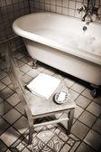 Koupelna scéna — Stock fotografie