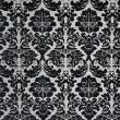 Black and White Baroque Background — 图库照片