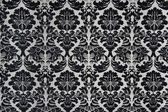 Black and White Baroque Background — Stock Photo