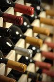 Weinflaschen — Stockfoto