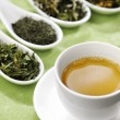 Cup of green tea — Foto Stock
