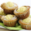 Apple and White Chocolate Muffins — Foto Stock