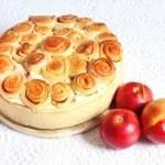 Apple pie isolated — Stock Photo #41572291