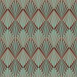 Art Deco style seamless pattern texture - Stock Photo